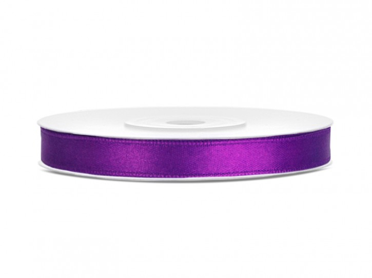 Satinband 6mm violett