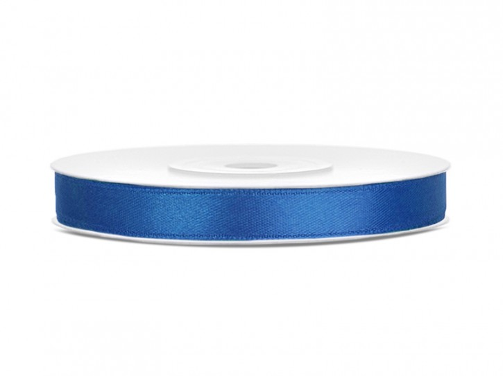 Satinband 6mm royalblau