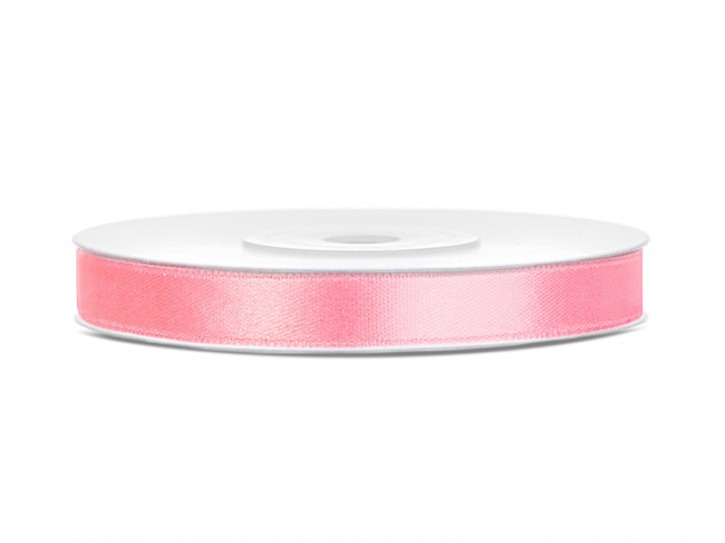 Satinband 6mm rosa