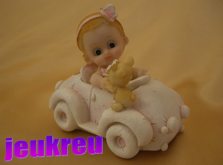 Sparkasse Baby Auto rosa